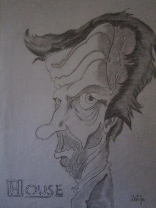 Hugh Laurie by fallen-angel